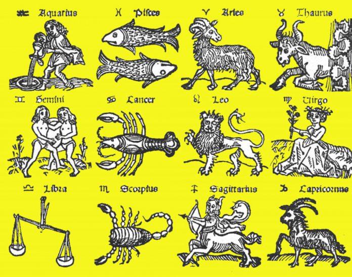 Aktivnost i inertnost 12 zodijačkih znakova