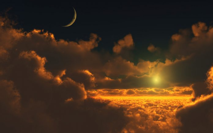 Polarizacija Sunca i Meseca