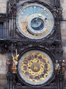 Astrološki (astronomski) sat u zlatnom gradu
