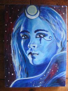 Mesec u Raku (čovek sa Mesecom u očima)