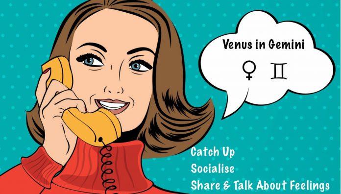 Venera u Blizancima – ljubav se rečima izgovara