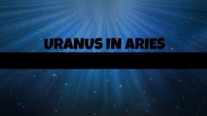 Uranovski gromovi u Ovnu u borbi sa Plutonom u Jarcu